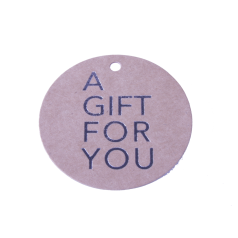 Label kraft a gift for you