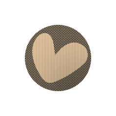 Etiket-rond-45mm-Heart-kraft-zwart-stipjes-118120.png