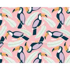 inpakpapier-toekan-roze-50cm