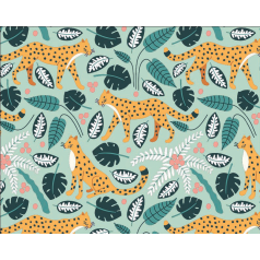 inpakpapier-wildlife-lightgreen-50cm