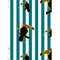 inpakpapier-toucan-petrol-ochre-30cm-0119264.png