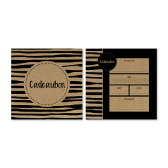 kadobon-carré-card-zebra-135x135mm-bruin-kraft-bruine-envelop-0119413.png