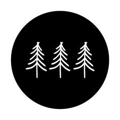 Etiket-Sticker-Ø45mm-Etiket-Tree-on-Black-0120197.png