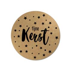 Etiket-Sticker-Ø45mm-Fijne-Kerst-sterretjes-kraft-zwart-0120551.png