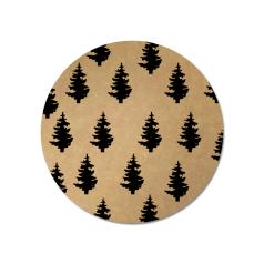 Etiket-Sticker-Ø45mm-Kerstboompjes-zwart-kraft-0120553.png