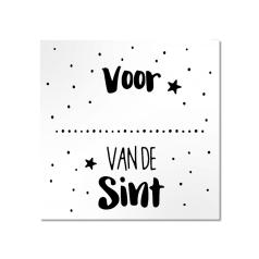 Etiket-Sticker-45x45mm-Voor-Van-de-Sint-wit-zwart-120451.png