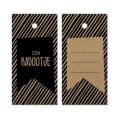 Hangkaartje-Een-Kadootje-Gestreept-bruin-kraft-0120118.png