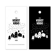 Hangkaartje-Een-Kerst-Kado-wit-zwart-0120134.png