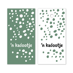 Hangkaartjes-n-Kadootje-Dots-wit-groen-zwart-0120190.png