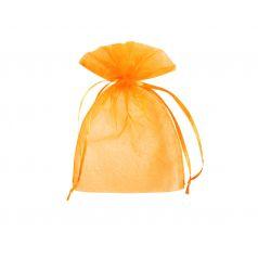 Organza zakje - Oranje (12,5x17,5cm)