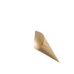Houten puntzakje (Ø70mm)