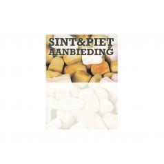 Prijskaart 'Sint & Piet aanbieding' (12x16cm)