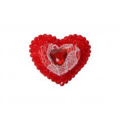 Decoplakker Gebloemd hart