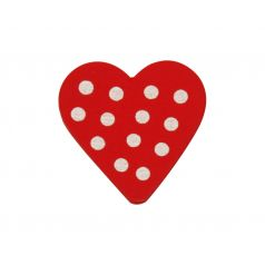 Decoplakker Hart dots