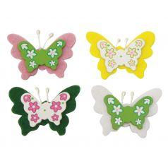 Decoplakkers Vlinders (assorti)