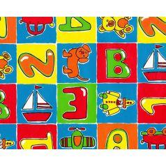 cadeaupapier met kleurige letters