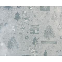 zilver inpakpapier voor kerst