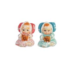 Deco Baby - Roze en blauw