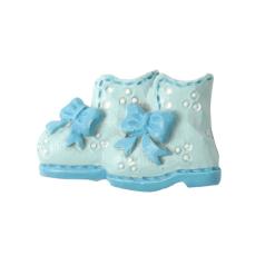 Deco Babyschoentjes - Blauw