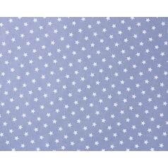 Inpakpapier Tweed Star - Blauw 50cm