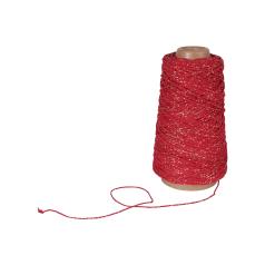Koord Lurex Twist - Rood/goud