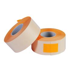 Prijstangetiket - Oranje (26x16mm)