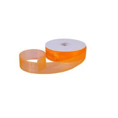 Organza lint - Oranje - 25 mm
