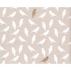 Inpakpapier 'Birdie' Taupe