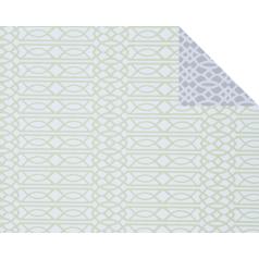 Inpakpapier Graphic Green/Grey, 50cm