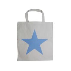 Katoenen draagtas Star - Blauw