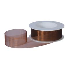 Organza lint - Donkerbruin (30mm)