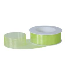 Organza lint - groen - 30 mm