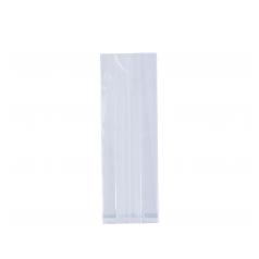 PP zak met zijvouw (7x2x40cm)