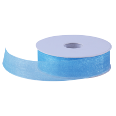 Organza lint - Turquoise (25mm)