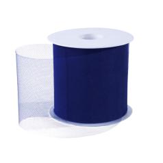 Tule lint - Donkerblauw (100mm)