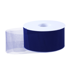 Tule lint - Donkerblauw (50mm)