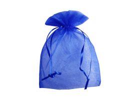 Organza zakje - Royal blue (12,5x17,5cm)