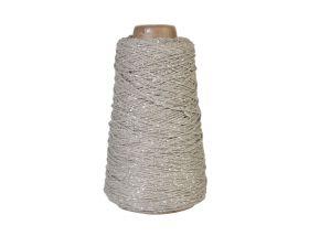 Koord Lurex Twist - Grijs/zilver