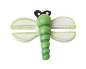 Decoplakker Libelle Groen