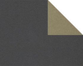 dubbelzijdig inpakpapier taupe en zwart