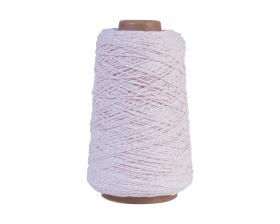 Katoenen koord - Roze/wit