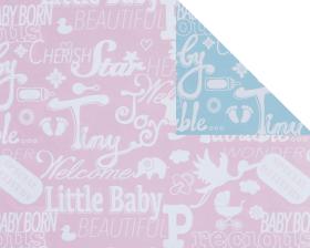 Inpakpapier Baby Calkboard