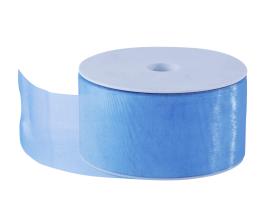 Organza lint - Baby blauw (50mm)