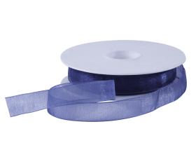 Organza lint - Donkerblauw (15mm)