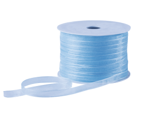 Organza lint - Lichtblauw (7mm)
