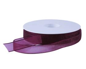 Organza lint - Paars (15mm)