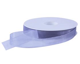 Organza lint - Zilvergrijs (15mm)