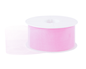 Tule lint - Roze (50mm)