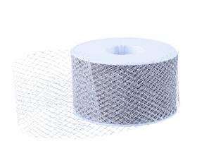 Tule lint - Zilver (50mm)